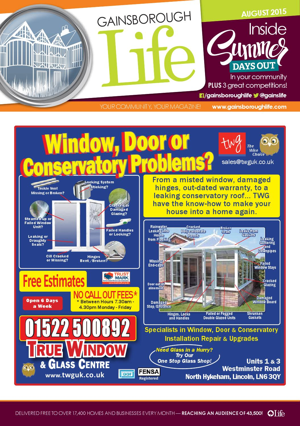 Gainsborough Life Magazine August 2015 By Publications Issuu Introduction To Electronic Circuit Design Solutionsrichard R S