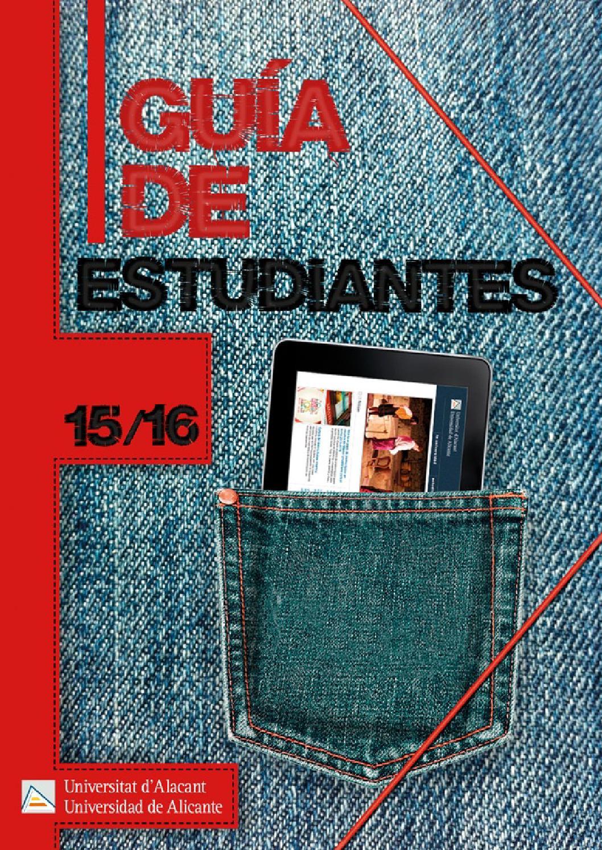 Guia de Estudiantes. Universidad de Alicante. Curso 2015-16. by ...