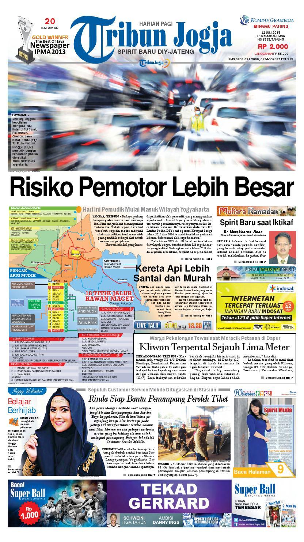 Tribunjogja 12 07 2015 By Tribun Jogja Issuu Produk Ukm Bumn Batik Tulis Babon Angrem