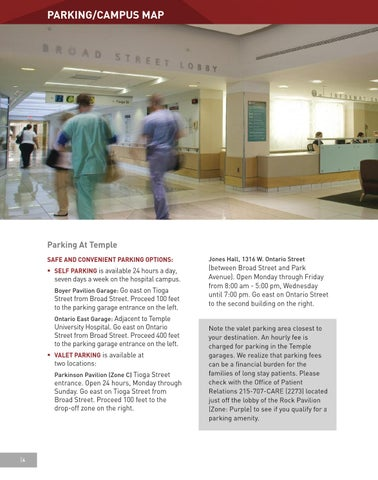 Temple University Hospital Orientation Handbook By Temple Health