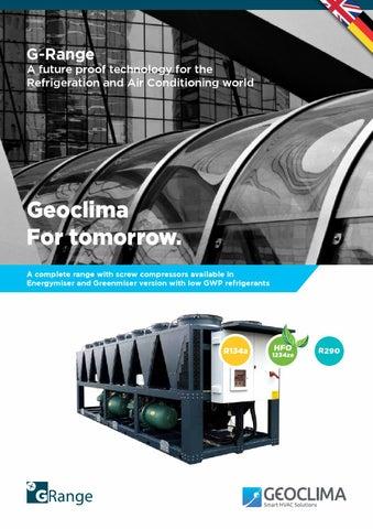 G-Range by Geoclima English/Deutsch by Geoclima - issuu