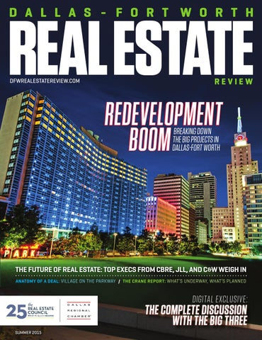 Dallas fort worth real estate review summer 2015 by dallas f blueprint for prosperity malvernweather Gallery