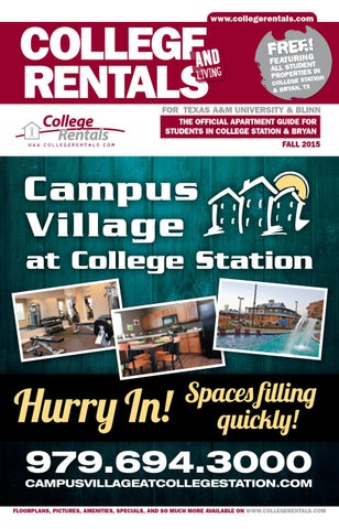 College Rentals College Station Fall 2015 By Whats Happening