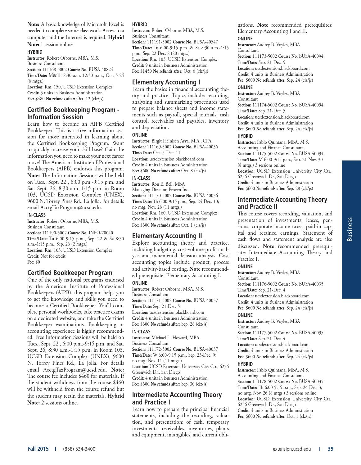 Catalog   Winter 2016   UC San Diego Extension by UC San