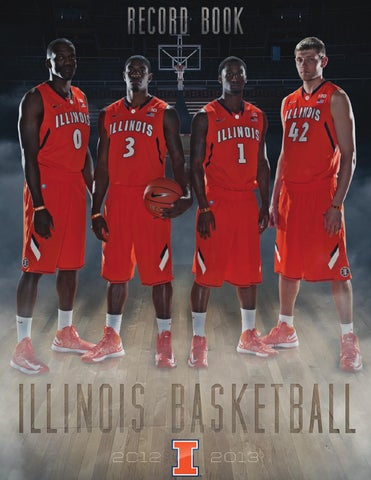 ff811a3ca 2012-13 Fighting Illini Men s Basketball Record Book by ...