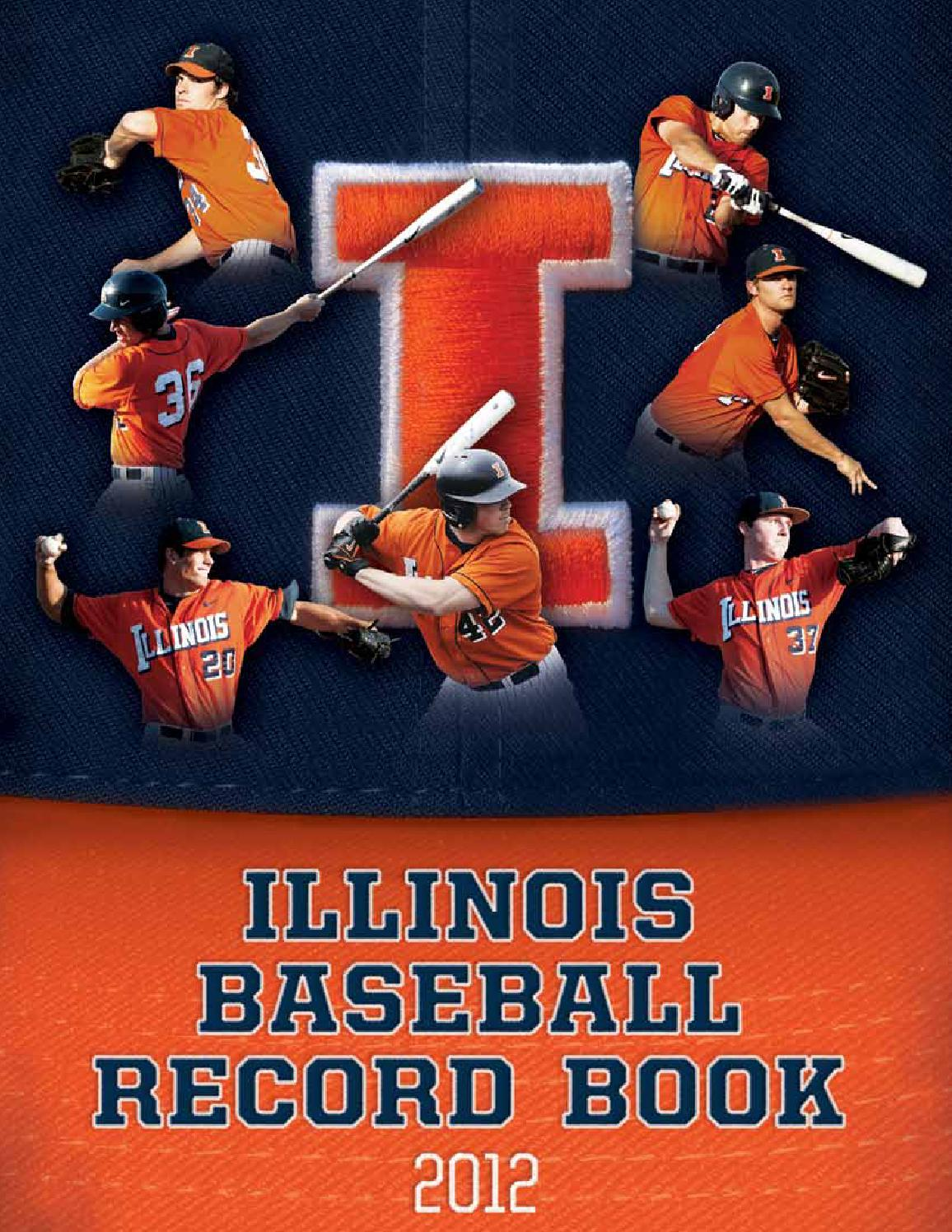 2012 baseball recordbook by illiniathletics - issuu
