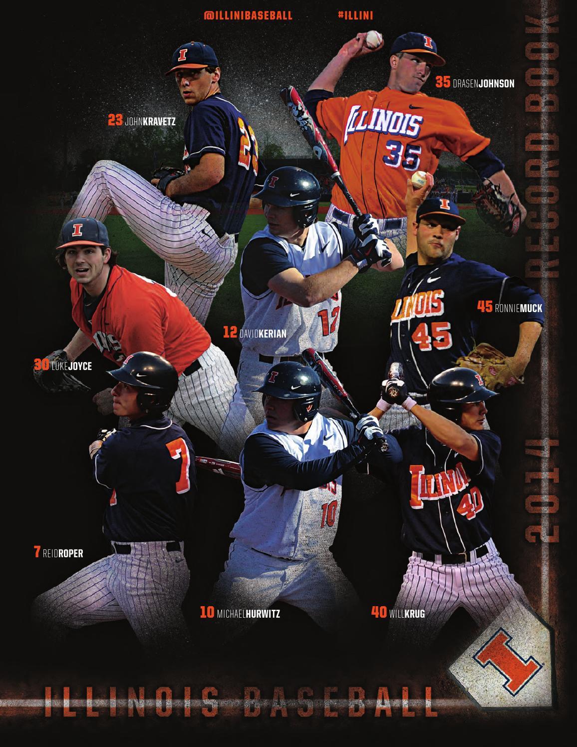 2014 baseball recordbook by illiniathletics issuu