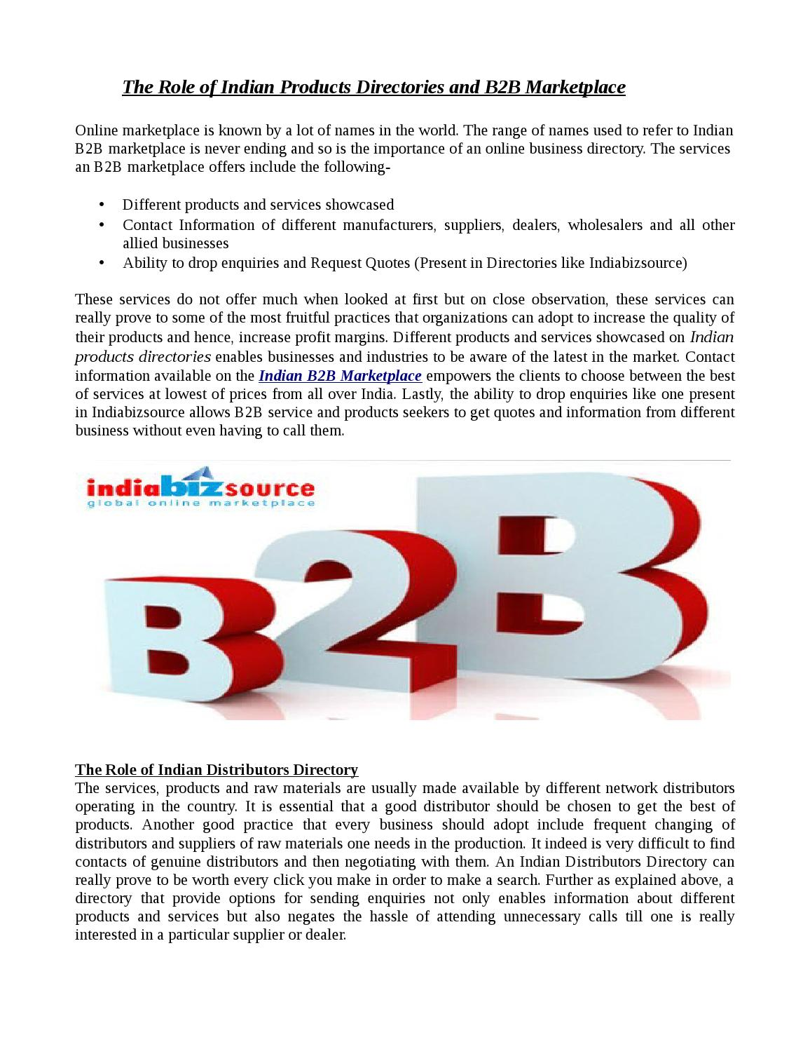Indian b2b marketplace indian distributors directory indian