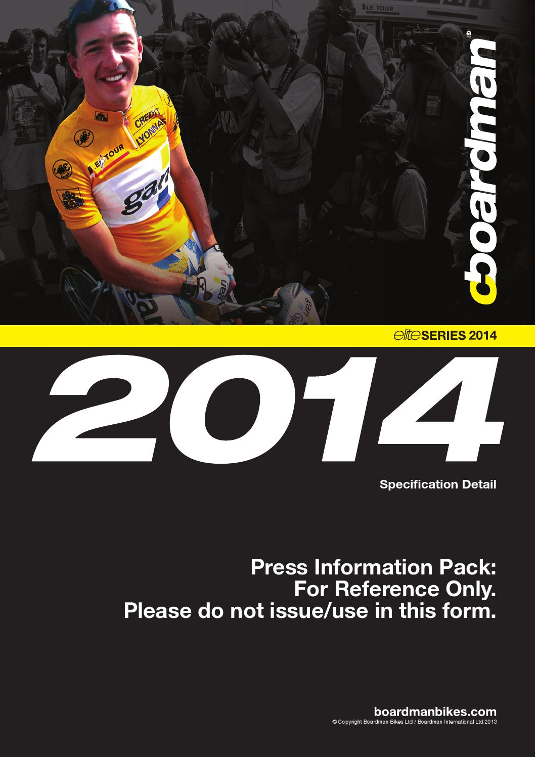 Boardman Bicycle Catalogue 2015, United Kingdom by allbikes