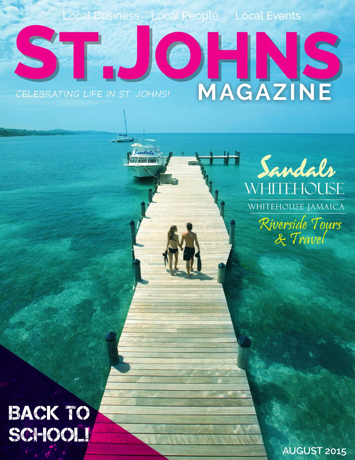 St Johns Mag August 2015 By St. Johns Magazine