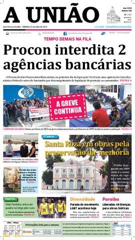Jornal A União - 25 07 2015 by Jornal A União - issuu 91ff1313bac