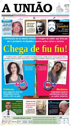 Jornal A União - 26 07 2015 by Jornal A União - issuu bc7cf3f9685cf
