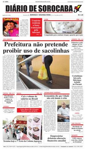 Edição de 26 de julho de 2015 by DIÁRIO DE SOROCABA - issuu b3169f1b1f