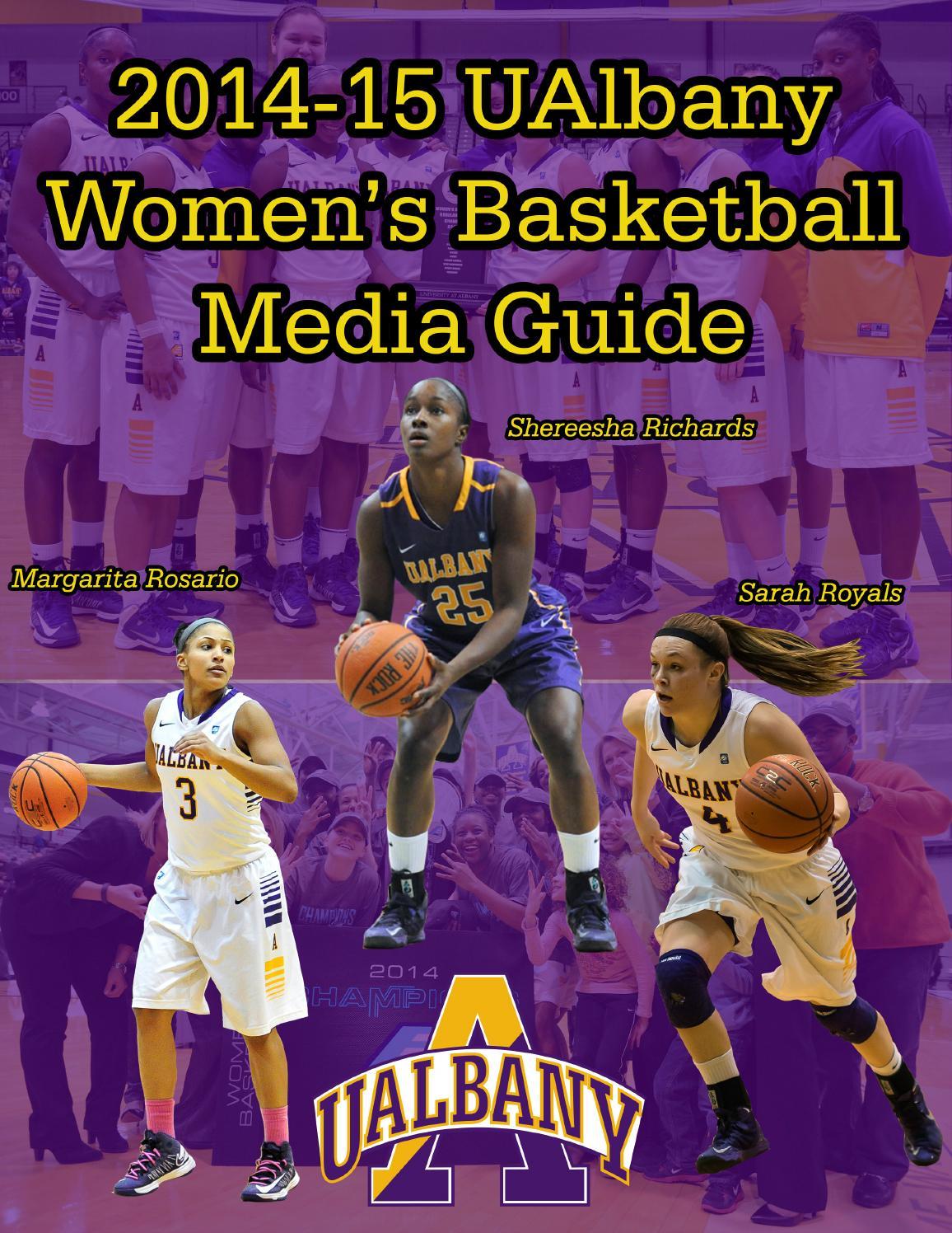 2014-15 UAlbany Women\'s Basketball Media Guide by Dave Vatz ...