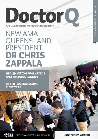 Doctorq july 2015 by ama queensland issuu new ama queensland president solutioingenieria Gallery