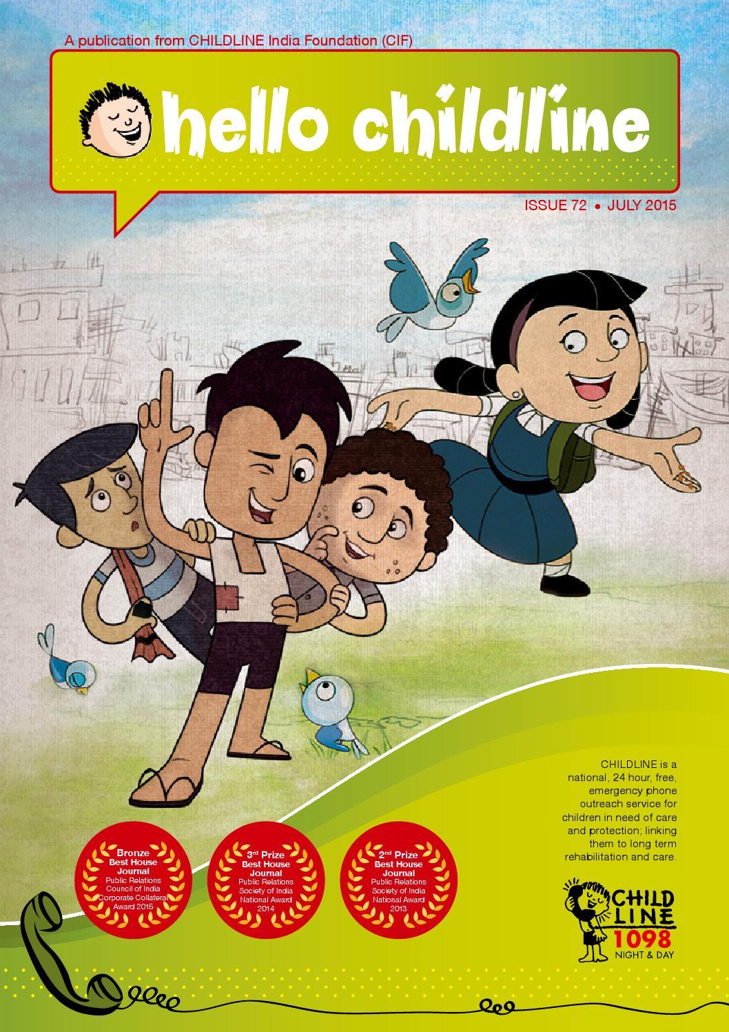Hello CHILDLINE - July 2015 English Edition by CHILDLINE