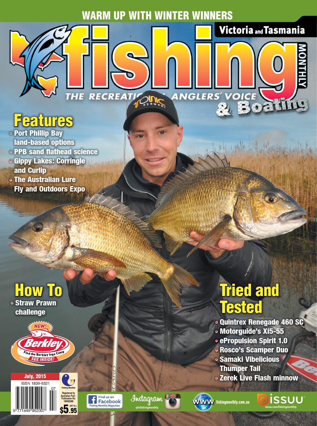 514760ab04a Victoria and Tasmania Fishing Monthly - July 2015 by Fishing Monthly - issuu