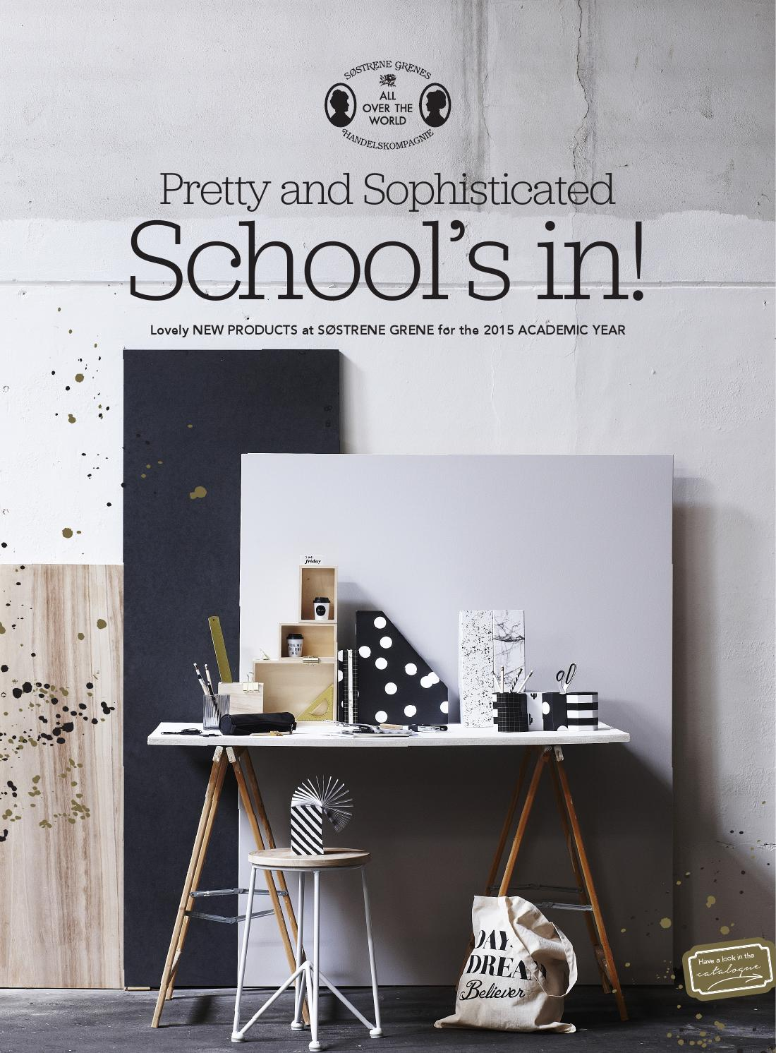 sostrene grene back to school 2015 uk by s strene grene issuu. Black Bedroom Furniture Sets. Home Design Ideas