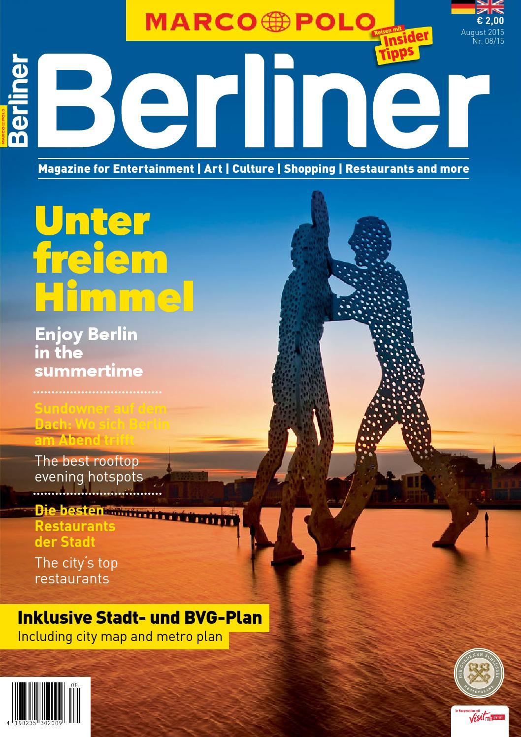 MARCO POLO Berliner 08/15 by Berlin Medien GmbH - issuu