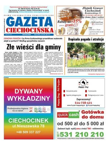 Gazeta Ciechocinska 53 2015 By Wydawnictwo Kujawy Issuu
