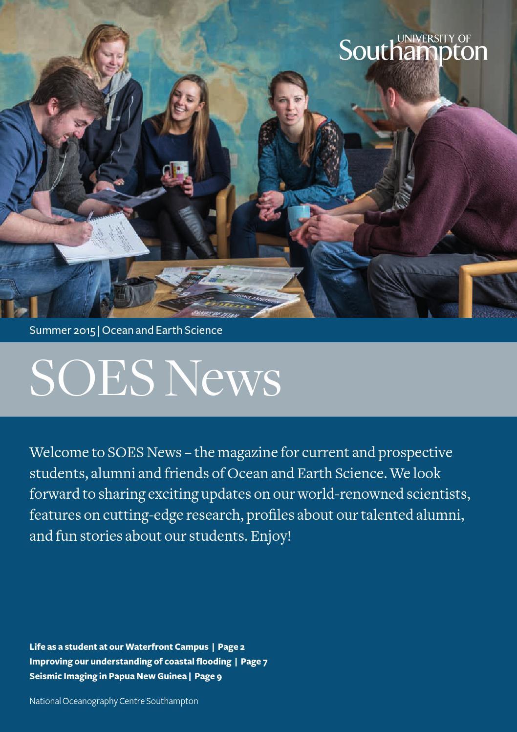 Soes News By University Of Southampton Issuu