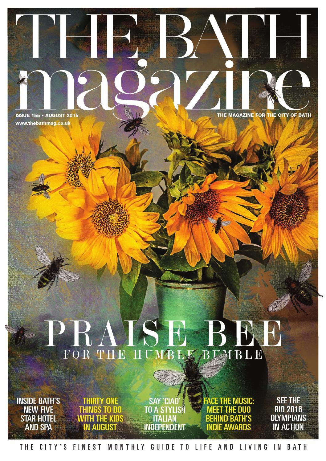 The Bath Magazine August 2015 by MC Publishing Limited - issuu