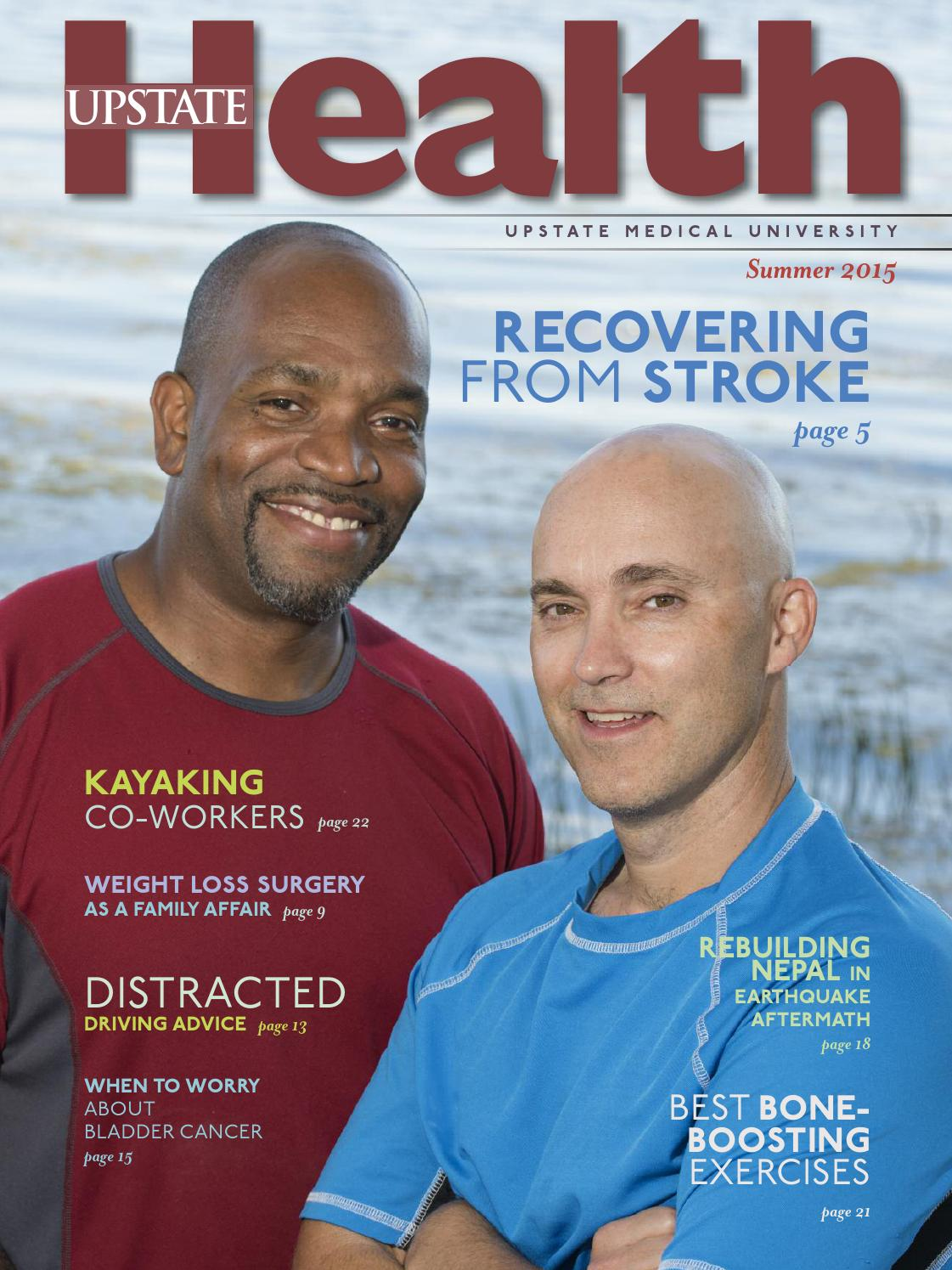 Upstate Health Summer 2015 By Upstate Medical University