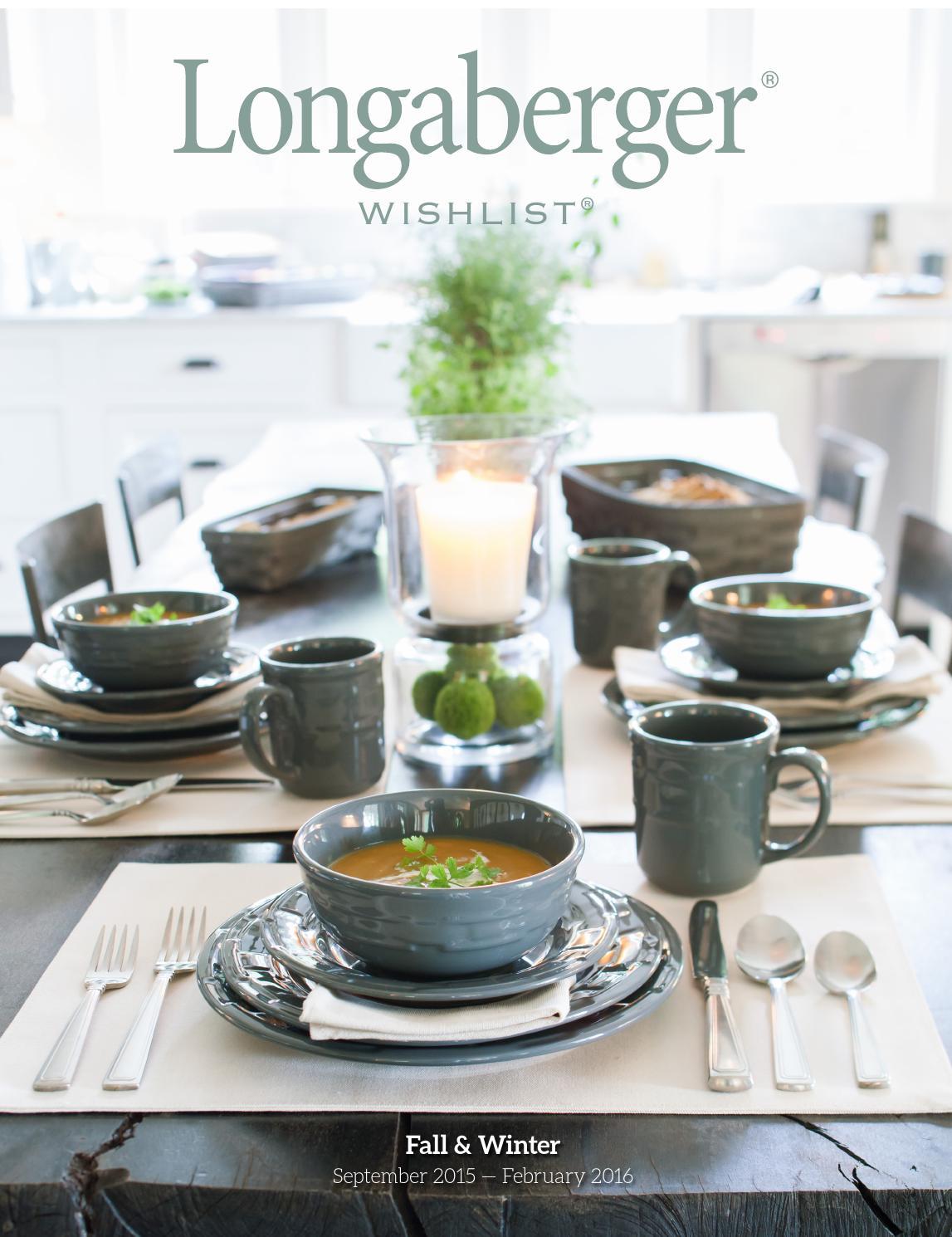 Longaberger 2015 Fall/Winter wishlist by Diana Alexander - issuu