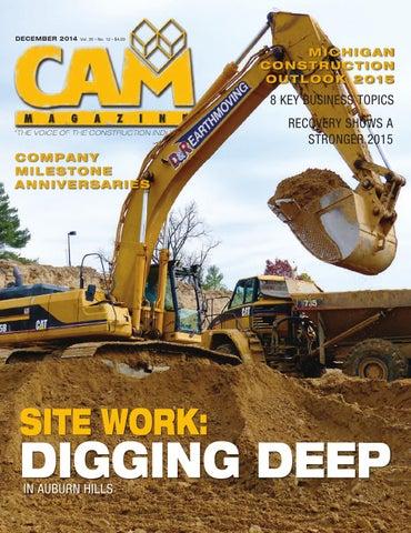 CAM Magazine December 2014 by Construction Association of