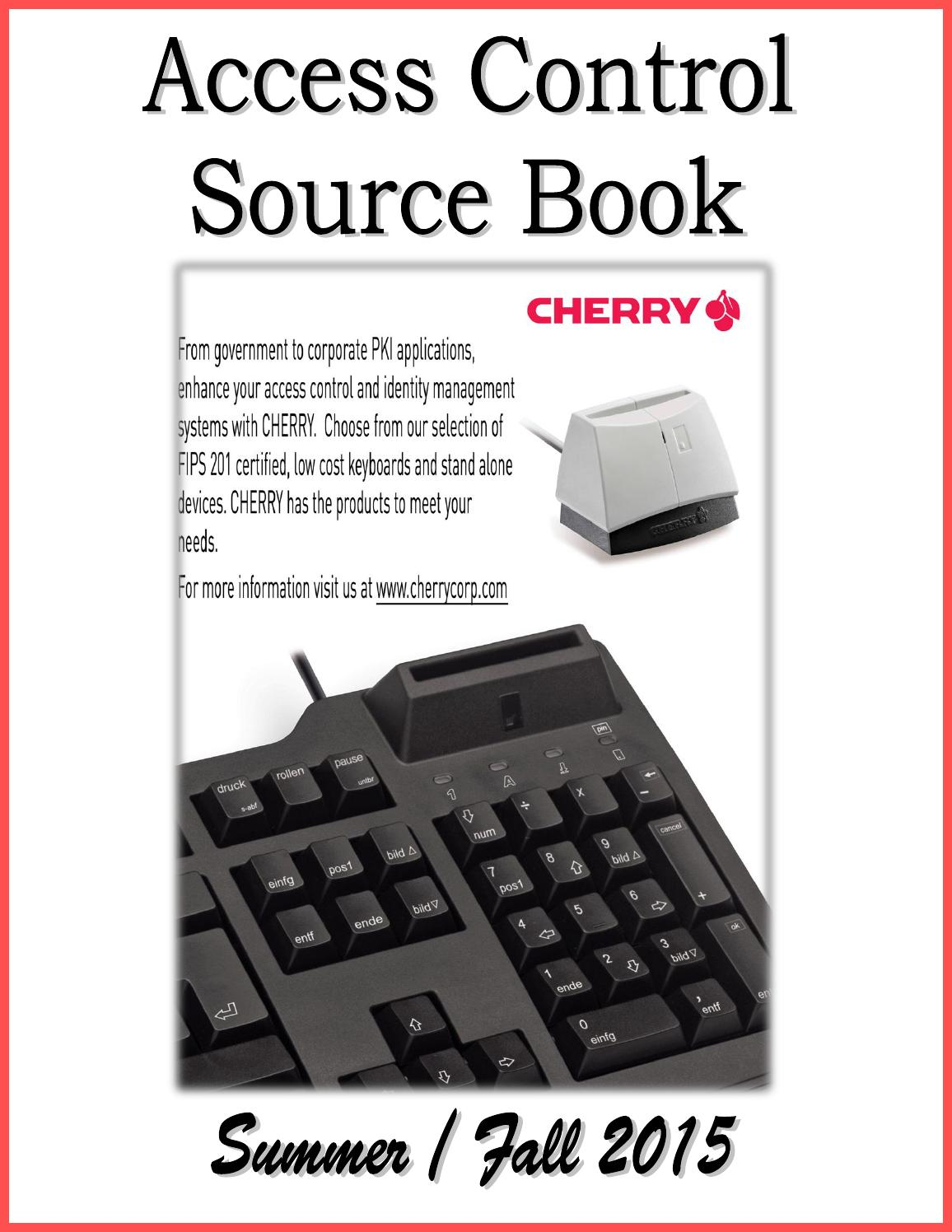 Access Control Source Book by Federal Buyers Guide, inc. - issuu
