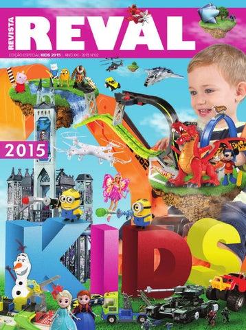 6e964ec615 Revista Reval Kids 2015 - Parte 01 by Reval Atacado de Papelaria ...