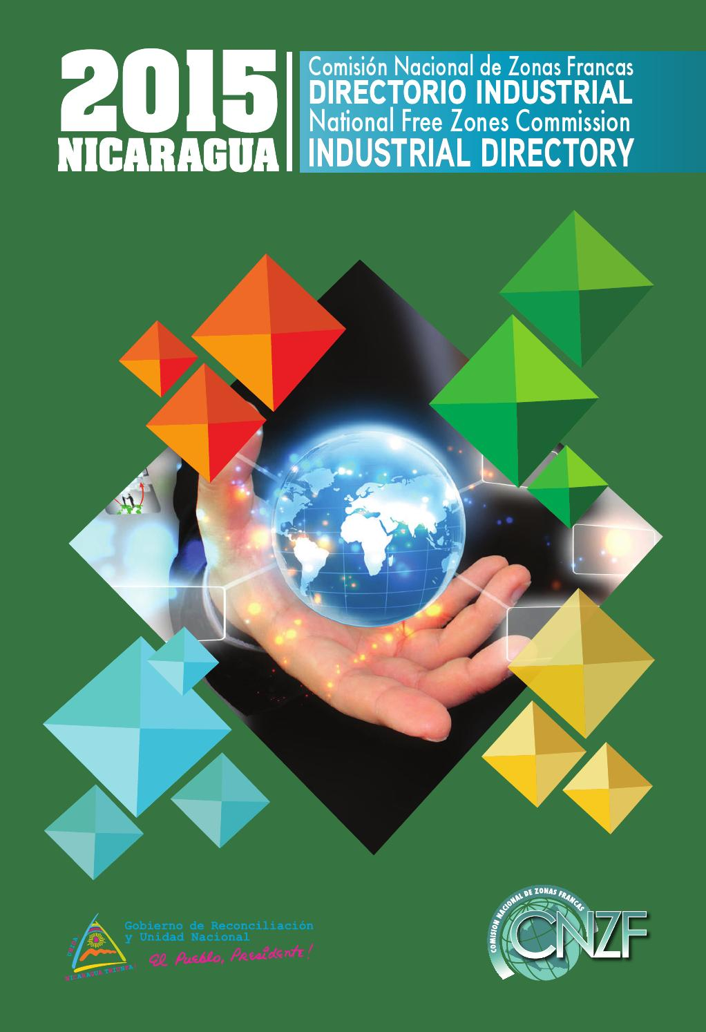 Directorio Industrial 2015 By Comision Nacional De Zonas Francas  # Muebles Sequeira Plasencia