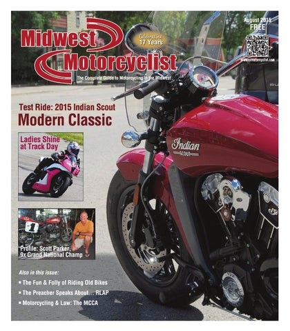 Midwest Motorcyclist, Aug 2015 issue