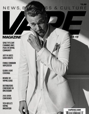 Vape Magazine August 2015 By Matt Schramel Issuu