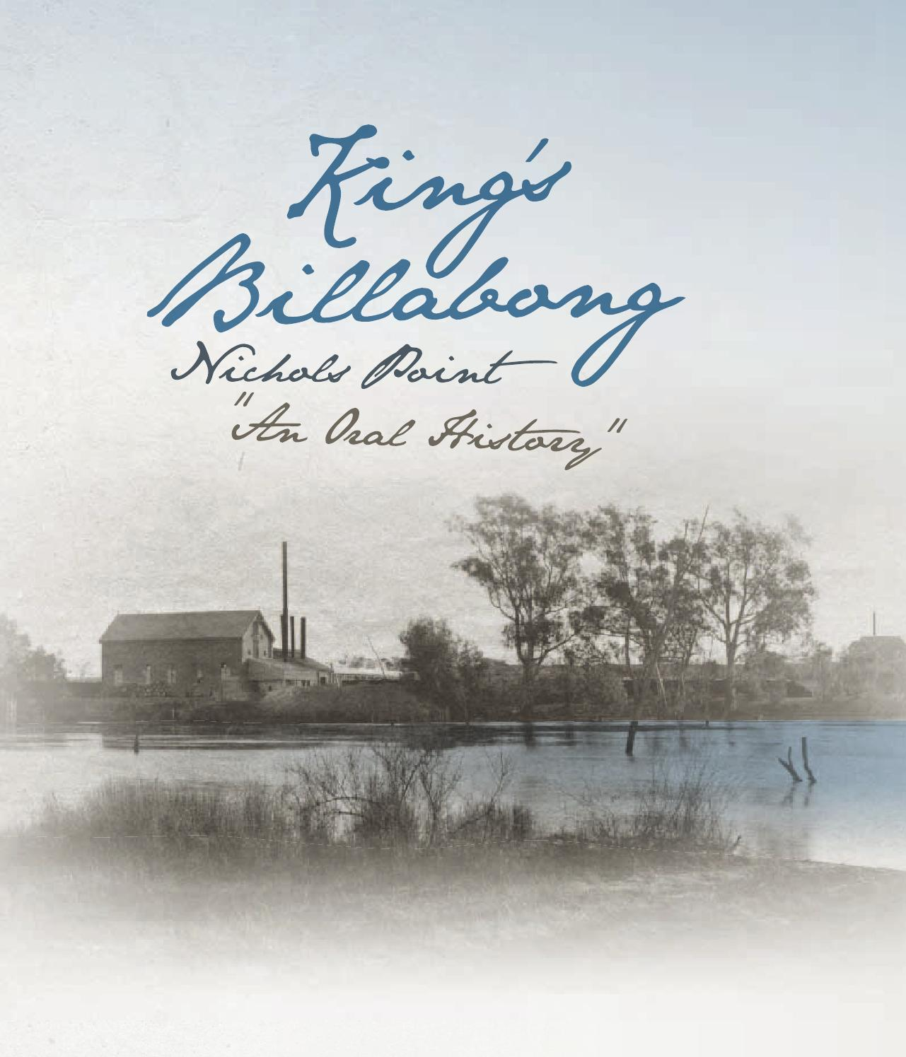 King S Billabong Nichols Point An History By Mallee