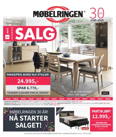 Svært Mobelringen Nord K16 by Amedia Ressurs Harstad - issuu IH-07