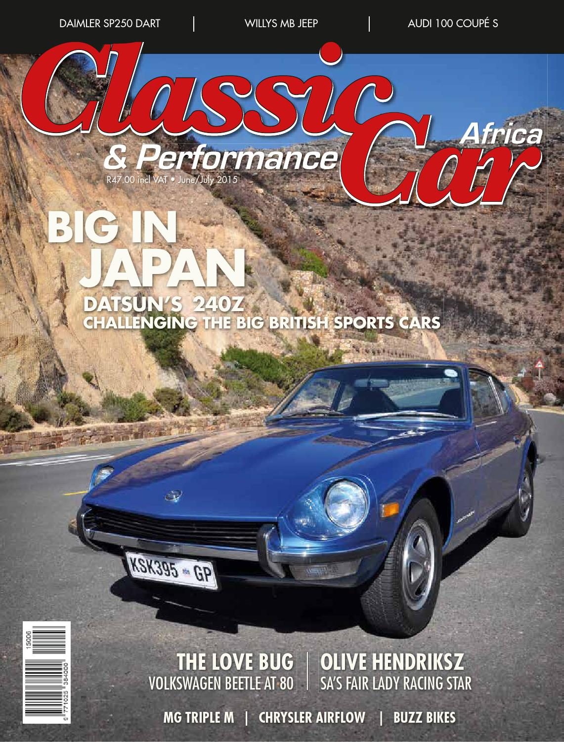 Classic & Performance Car Africa June/July 2015 by classic ...