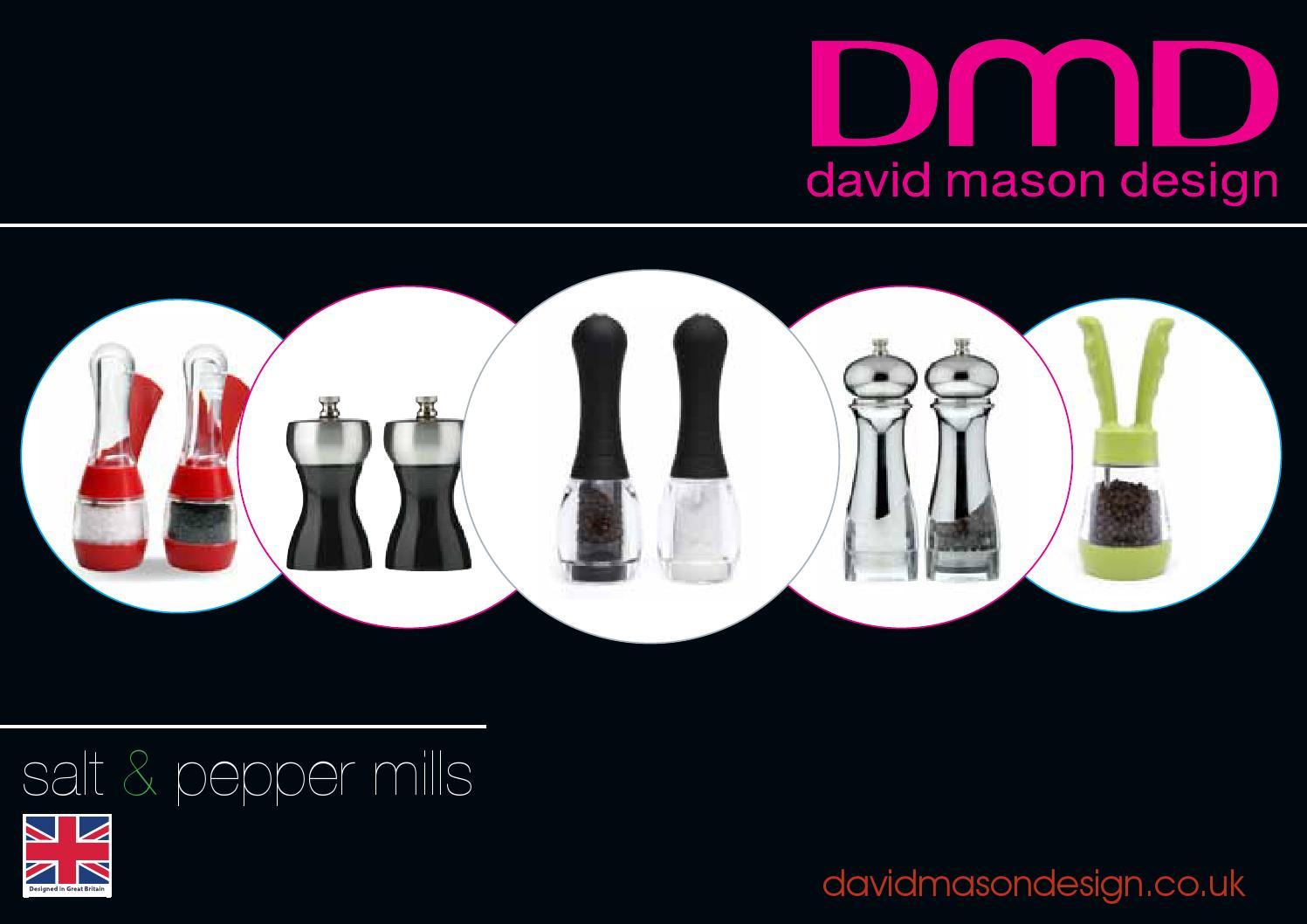 David Mason Design Salt Pepper Mills 2014 By Roxxor International Issuu