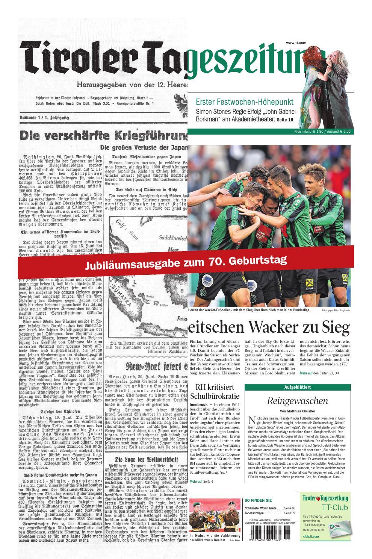 Tageszeitung Tirol