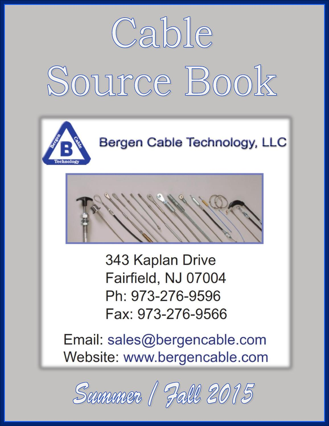 Cable Source Book by Federal Buyers Guide, inc. - issuu