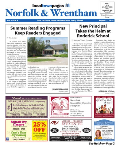 Norfolk/Wrentham August 2015 by Local Town Pages - issuu