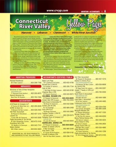 2015 connecticut river valley yellow pages by mason marketing group page 1 malvernweather Images