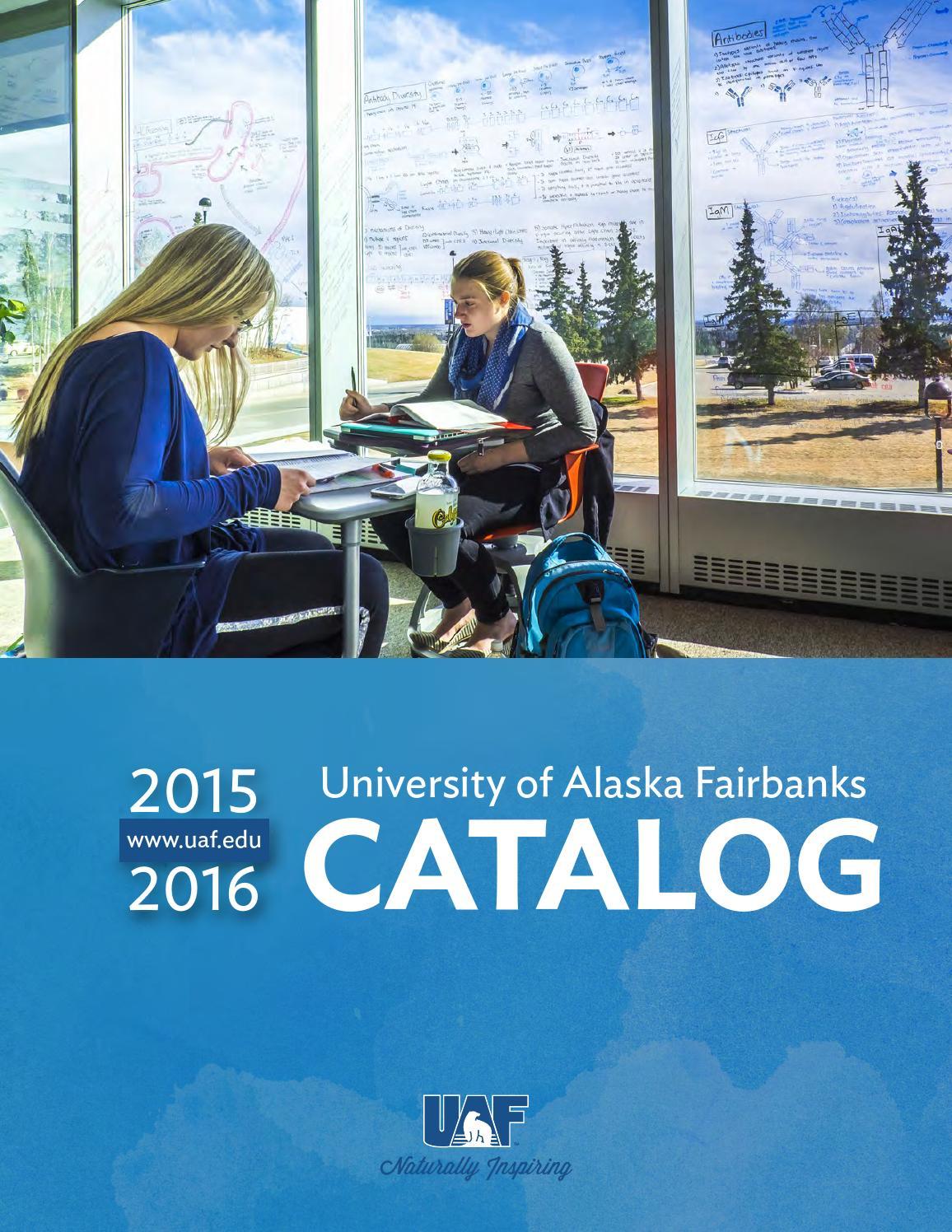 2015 2016 uaf catalog by university of alaska fairbanks issuu. Black Bedroom Furniture Sets. Home Design Ideas