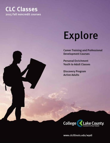 Fall 2015 noncredit class schedule by college of lake county issuu page 1 fandeluxe Choice Image