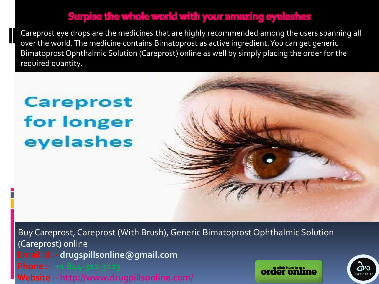 Surpise The Whole World With Your Amazing Eyelashes By Drug Pills