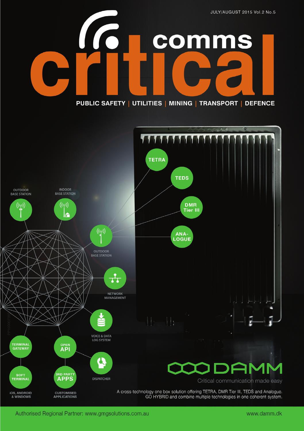 Critical Comms Jul Aug 2015 By Westwick Farrow Media Issuu Nokia 9300 Service Manual