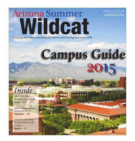 Arizona summer wildcat campus guide by arizona daily wildcat issuu page 1 malvernweather Choice Image