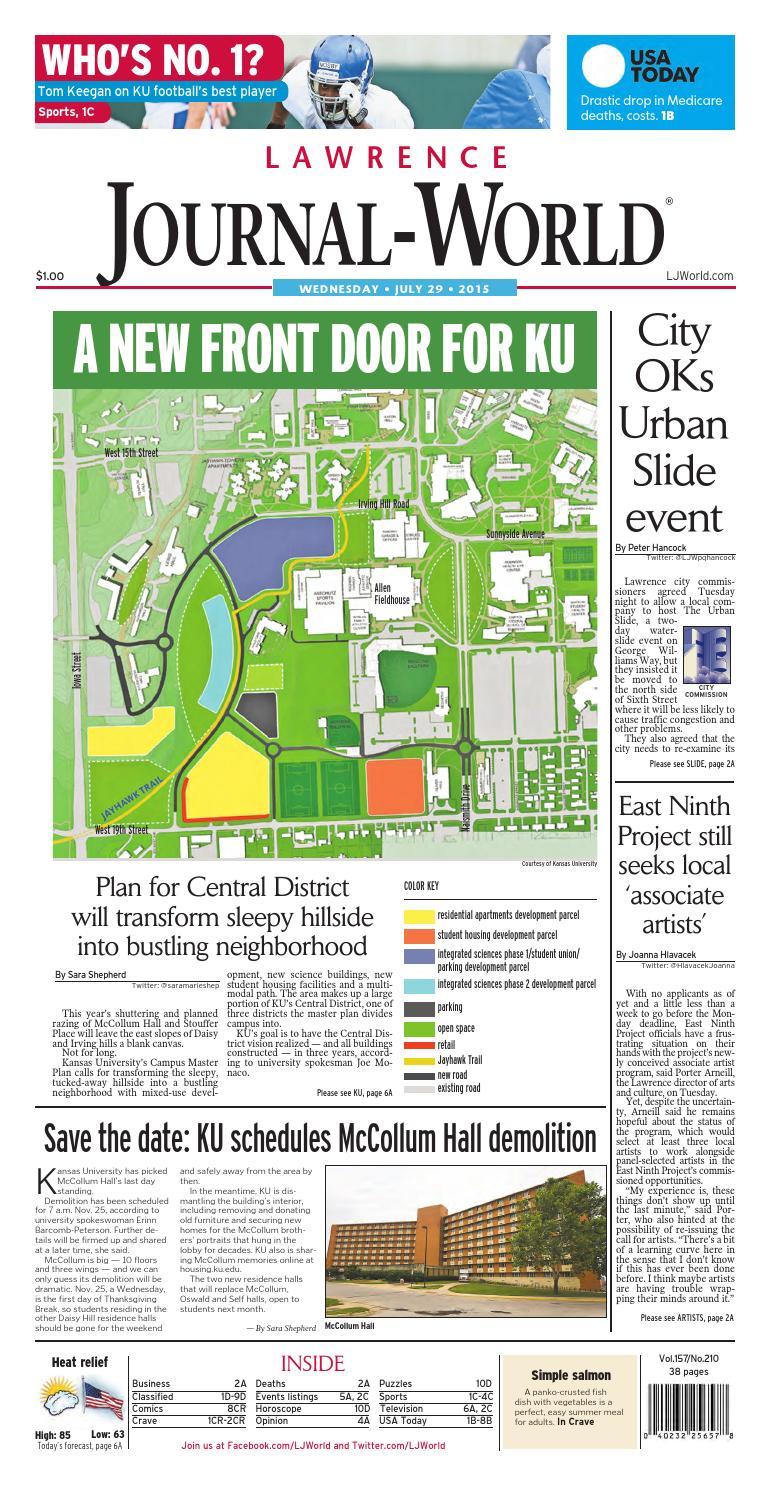 Lawrence Journal World 07 29 2015 By Lawrence Journal World Issuu