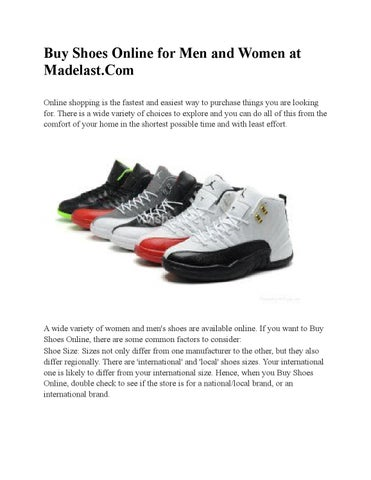 6bdf83f02166 Buy shoes online for men and women at madelast com by Madelast.com ...