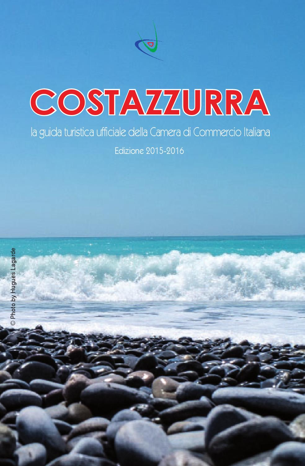 Guida costazzurra 2015 2016 by chambre de commerce for Chambre de commerce italienne nice